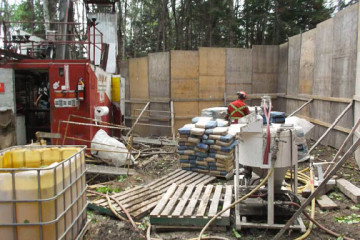 Cement Grouting for Drill Hole Abandonment Ontario