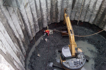 high-volume water stop project in tunnel shaft
