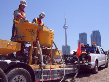 Cement grouting services