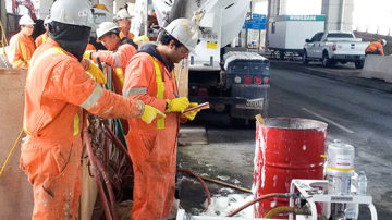 cellular grouting operation in Downtown TO