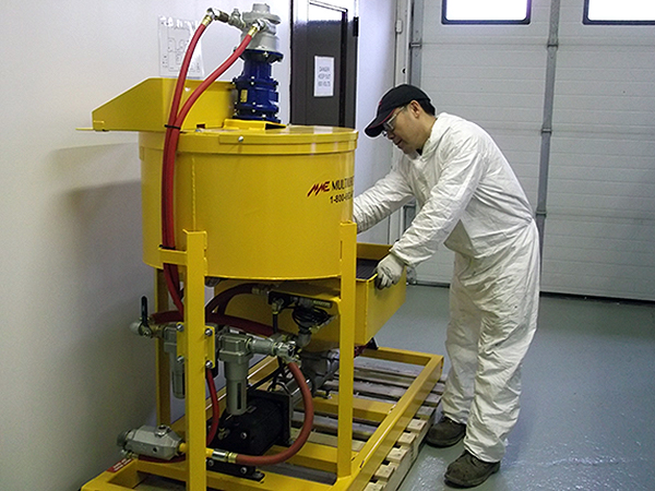 Grouting Equipment Maintenance